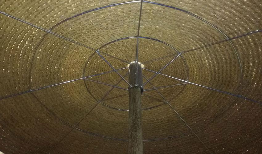 Ombrelloni Di Paglia Vendita.Stuoie Rotonde Di Paglia Africana Per Lidi Ecotex